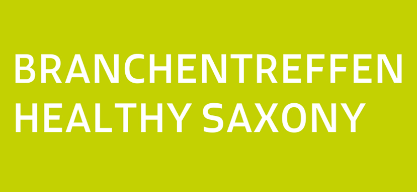 Branchentreffen Healthy Saxony Anzeige