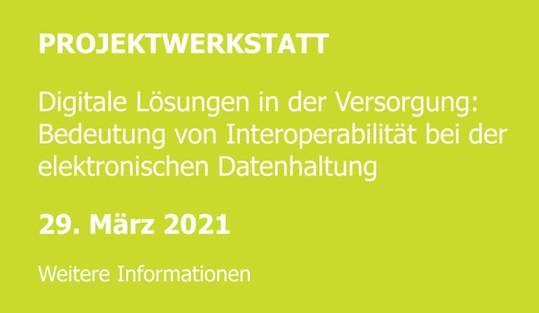 Projektwerkstatt 2021